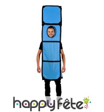 Costume de Tetris en forme de I, Morphsuit