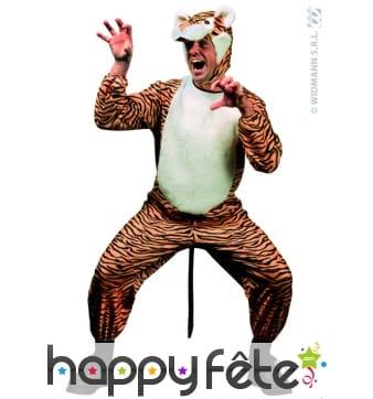 Costume de tigre adulte