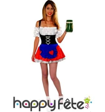 Costume de Tyrolienne sexy