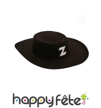 Chapeau de vengeur masqué pour enfant