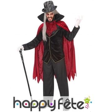 Costume de vampire chic pour homme
