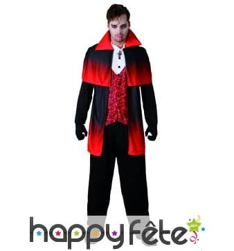 Costume de vampire pour homme