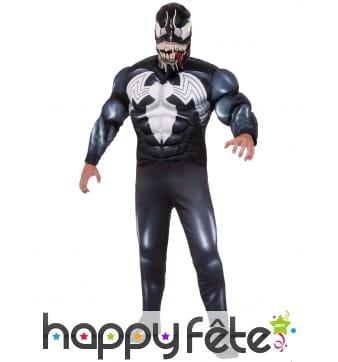 Costume de Venom musclé pour adulte