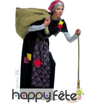 Costume de vieille femme