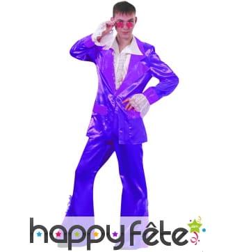 Costume disco violet