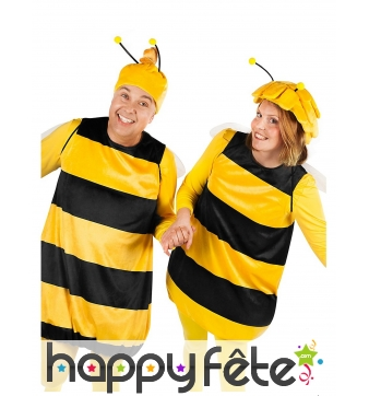 Costume de Willy Maya l'Abeille taille adulte