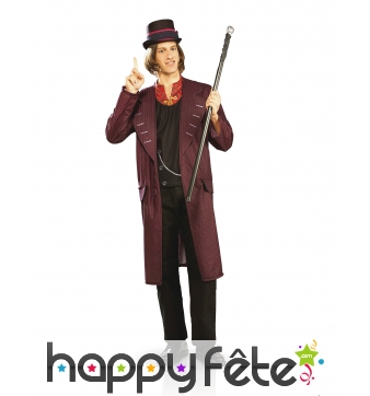 Costume de Willy Wonka pour adulte