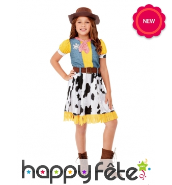 Costume de Woody Toy Story pour fille