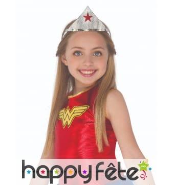Couronne de Wonder Woman pour fille