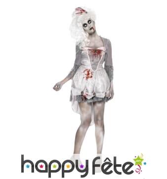 Costume de zombie géorgien femme
