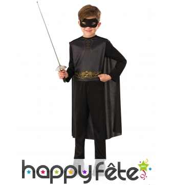 Costume de Zorro pour enfant