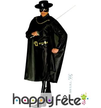 Costume de Zorro