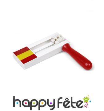 Crécelle Espagne