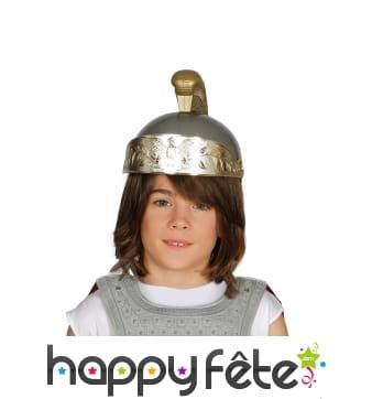 Casque enfant de centurion romain