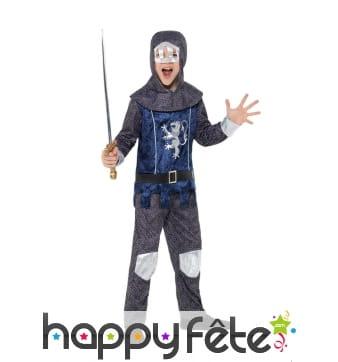 Costume enfant de chevalier médiéval