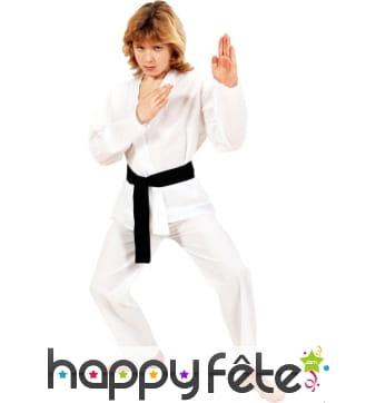 Costume enfant de karateka
