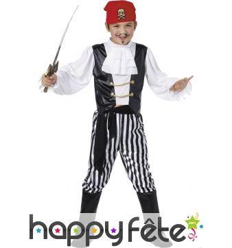 Costume enfant de pirate