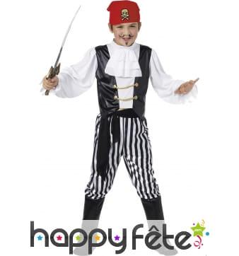 Costume enfant de pirate