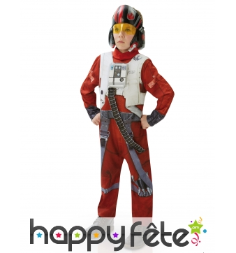 Costume enfant de Poe X-Wing Fighter, luxe