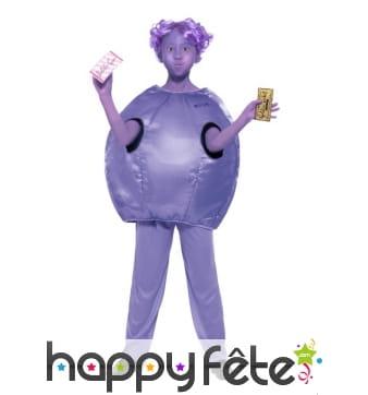 Costume enfant de Violette Beauregard, Roald Dahl