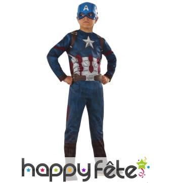 Costume enfant du Captain America Civil War