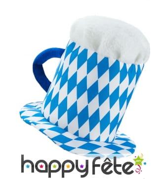 Chapeau en forme de chope Oktoberfest