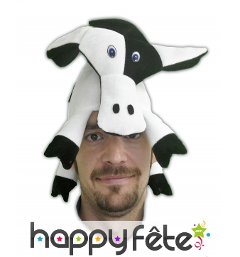 Coiffe en forme de vache