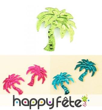 Confettis en forme de palmier pour la table