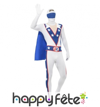 Costume Evel Knievel seconde peau