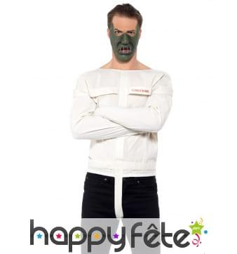 Camisole et masque de hannibal lecter