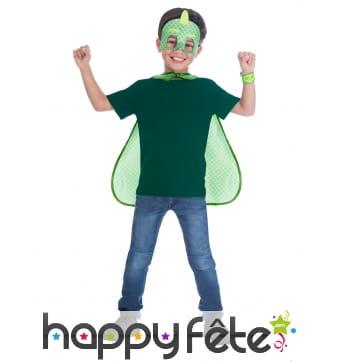 Cape et masque de Gluglu Pyjamasques pour enfant