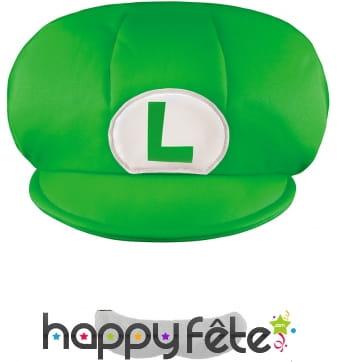Casquette et Moustache de Luigi pour enfant