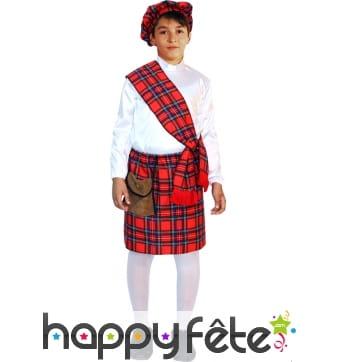 Costume Ecossais pour enfant, premier prix