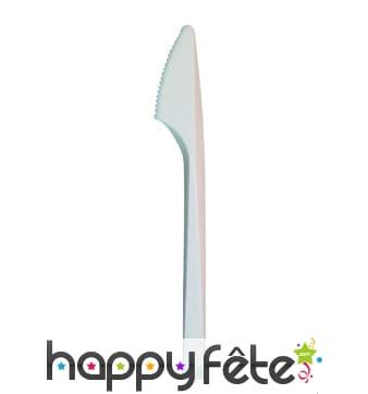 Couteaux en plastique