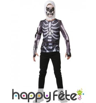 Cagoule et T-shirt de Skull Trooper pour ado