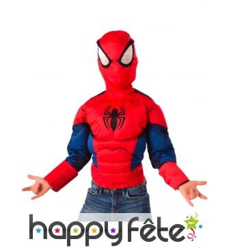 Cagoule et T-shirt Spiderman pour enfant