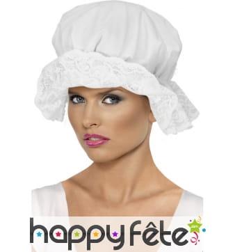 Chapeau femme blanc