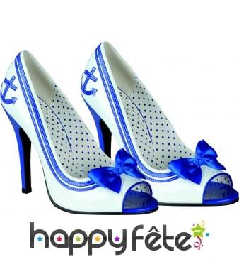 Chaussures femme de la marine