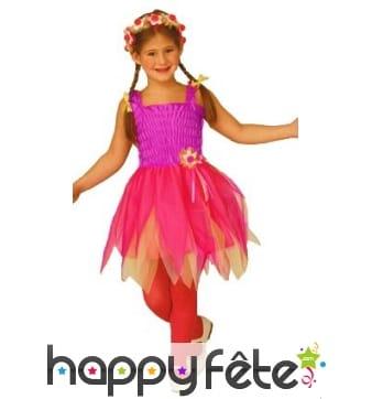 Costume fuchsia de petite fée