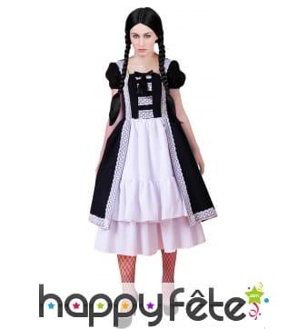 Costume gothique de femme