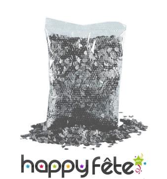 Confettis gris foncé par 200gr