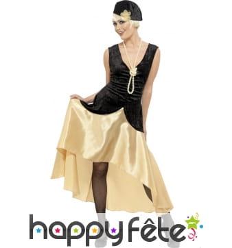 Costume gatsby girl années 20