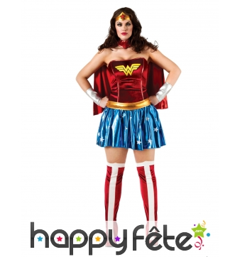 Costume grande taille de Wonder Woman
