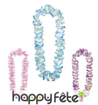 Collier Hawaïen fleuri