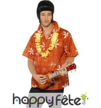 Chemise hawaienne homme elvis