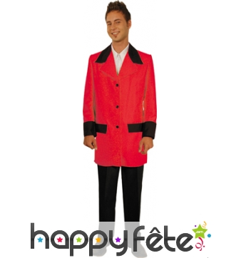 Costume homme rouge