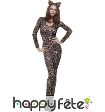 Combinaison imprimé léopard