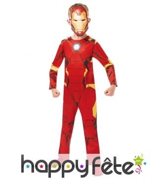 Combinaison Iron man enfant, version classique