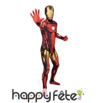 Combinaison Iron Man Morphsuit, haut de gamme