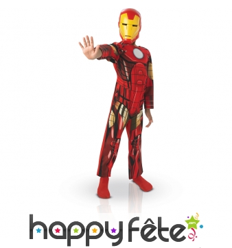 Costume iron man avengers pour enfant